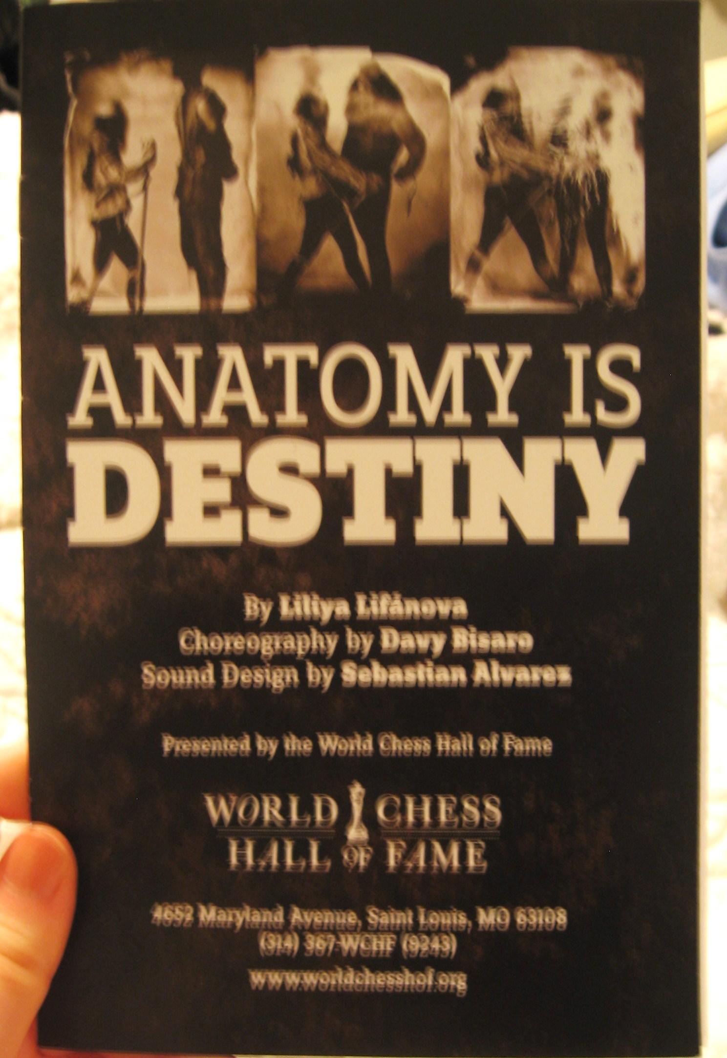 Anatomy is Destiny | BODIES NEVER LIE