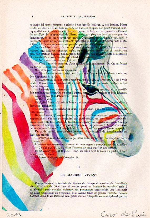 btl rainbow zebra
