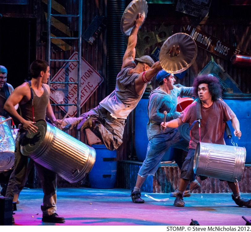 STOMP- photo by Steve McNicholas 2012