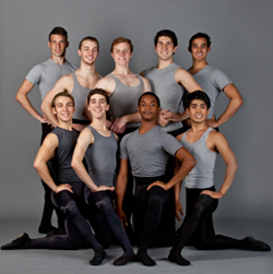 The menof Nashville Ballet 2- Brett is back-row, center