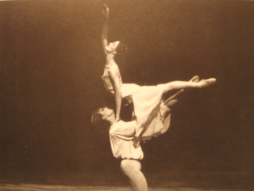 Reach for your dreams! JK with Vladimir Malakhov in Romeo and Juliet 1996