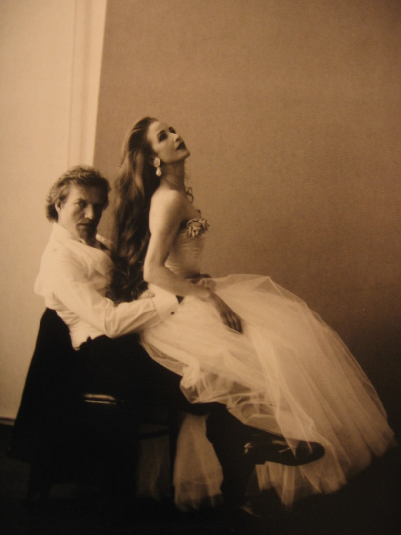 Peter Martins and Darci Kistler- photo by Annie Leibowitz (1992)