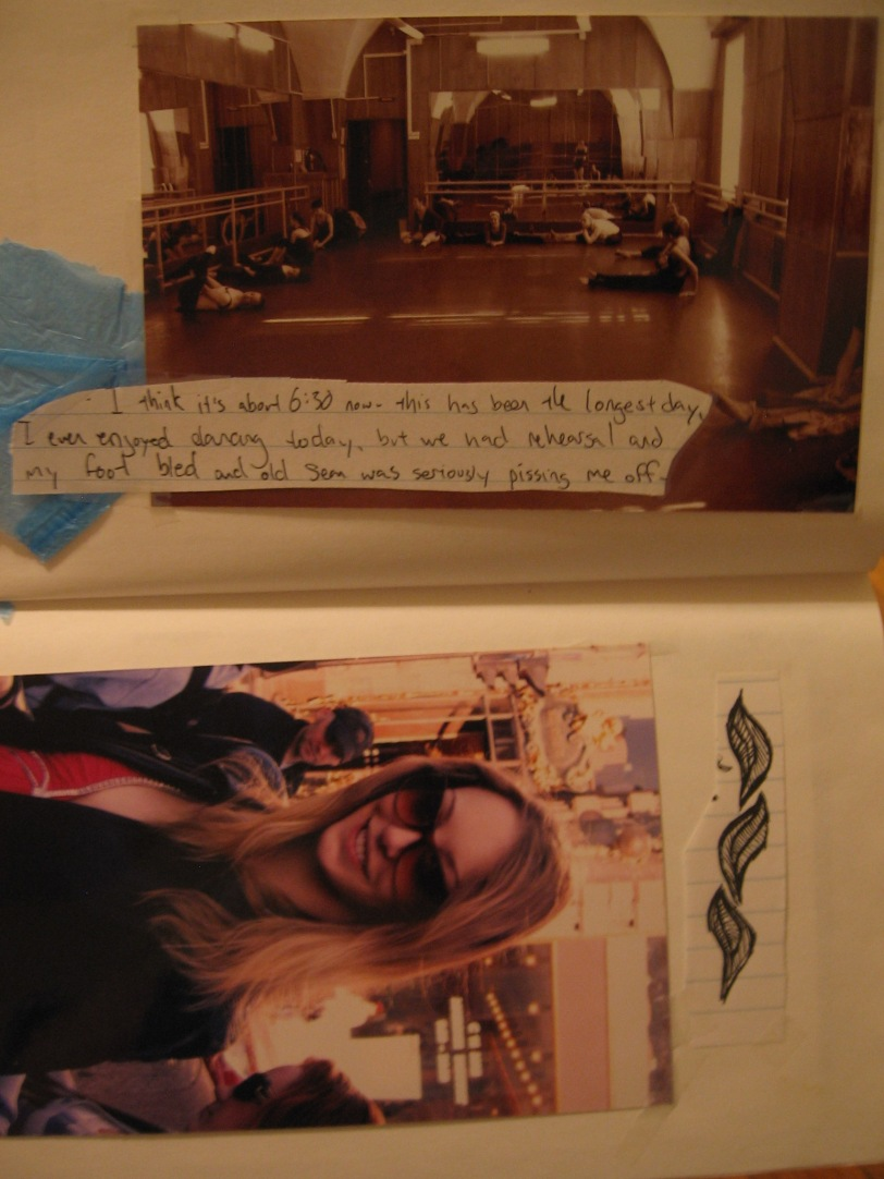The studio in St. Petersburg with an excerpt from the journal I kept while I was there