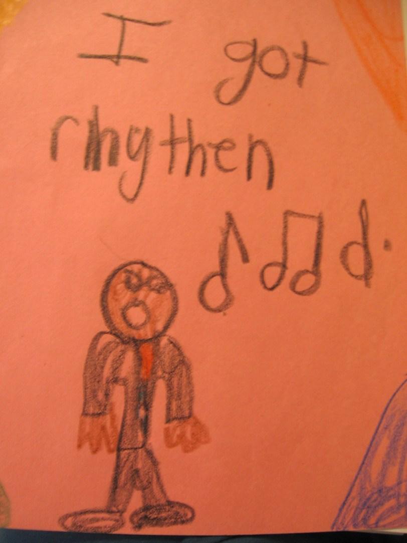 Rhythen you got, spelling skills you ain't!