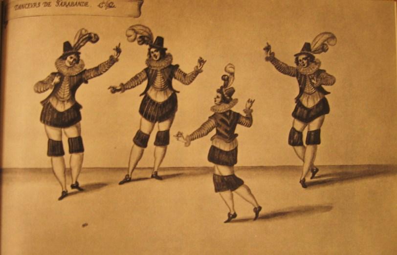 Design by Daniel Rabel for 'Danceurs de Sarabande'