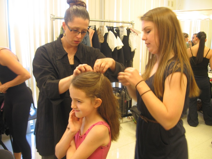 A REAL teacher will guide you through technique, artistry, life, and hairdo's
