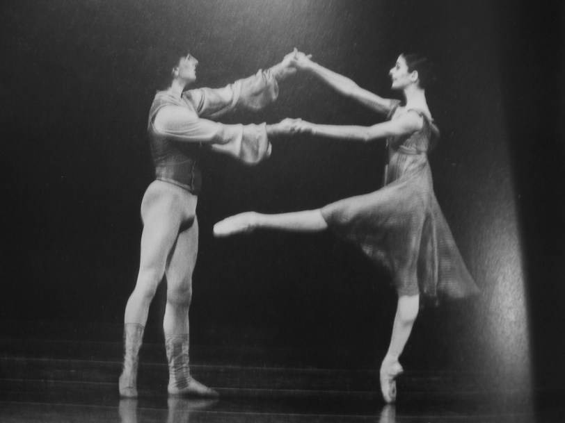 Champion of my foot-lust, Alessandra Ferri with Julio Bocca in 'Other Dances'