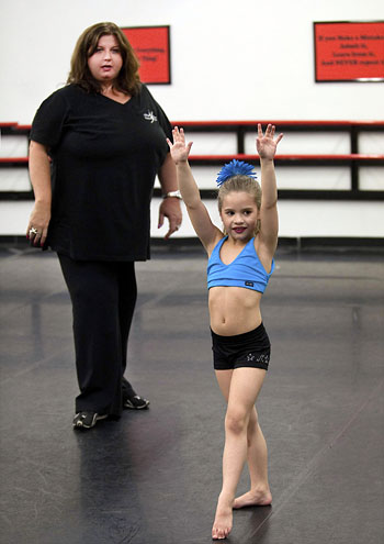 Dance Moms teacher and judge of all things 'sparkle ballet'- Abby Lee Miller (image via dance connect)