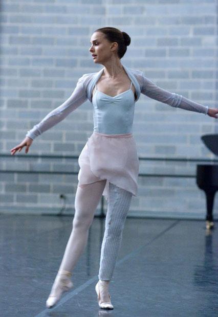 Natalie Portman, faux dancer spokesmodel