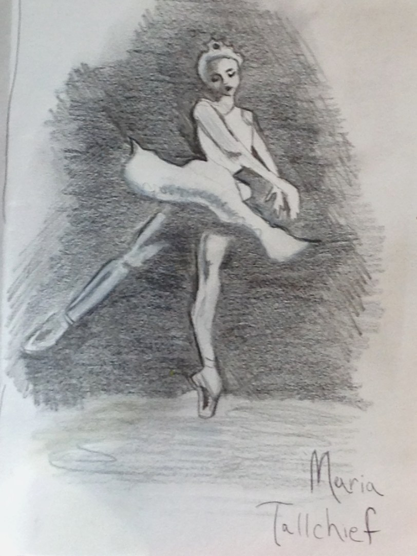 Wife #3- Maria Tallchief