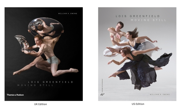 Lois Greenfield: Moving Still, Thames & Hudson, Chronicle Books, 2015. Paul Zivkovich and Craig Bary (T&H Cover), Eileen Jaworowicz, Andrew Claus and Aileen Roehl (Chronicle Cover) 1716_DG_Amy_Marshall_Dancers_101_FN and 1698_DG_Zivkovich_Bary_328_FN