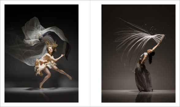 Lois Greenfield: Moving Still, Thames & Hudson, Chronicle Books, 2015. Natalie Deryn Johnson and Jye-Hwei Lin 1817_DG_Jye_Hwei_Lin_test_216_FN and 1813_Natalie_Johnson_090_074_FN_BR