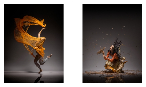 Lois Greenfield: Moving Still, Thames & Hudson, Chronicle Books, 2015. Ha-Chi Yu and PeiJu Chien-Pott 1821_DG_Peiju_Chien_Pott_172_FN_BCR and 1818_DG_HaChi_Yu_057_FN_BCR