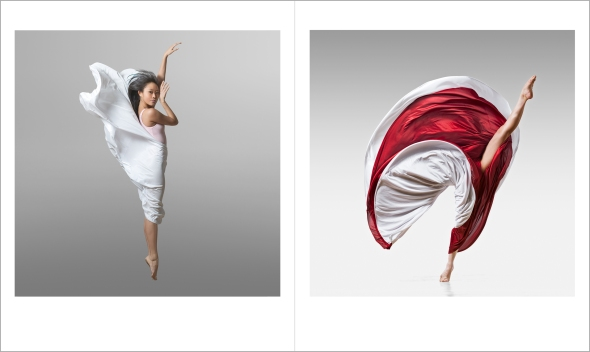 Lois Greenfield: Moving Still, Thames & Hudson, Chronicle Books, 2015. Jennifer Minzy Lee and Fang-Yi Sheu 1728_DG_Fang_Yi_Sheu_108_FN_BR and 1710_DG_Jennifer_Lee_078_FN_BR