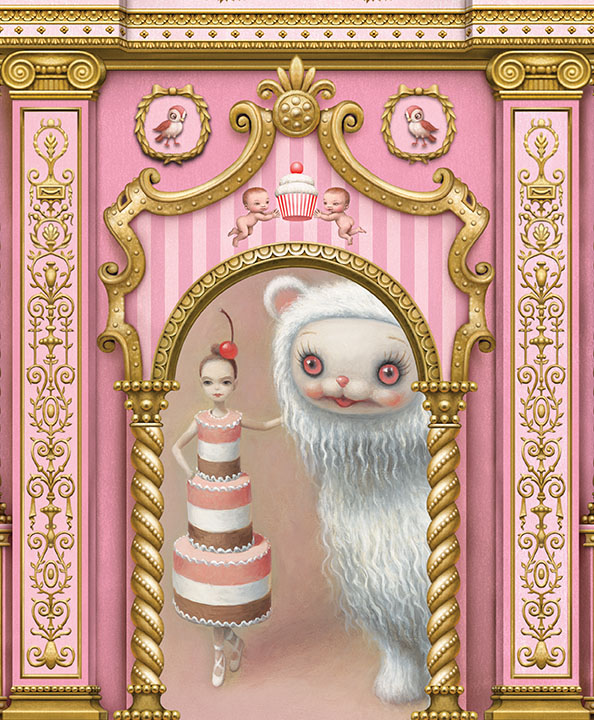 ABT whipped cream Mark Ryden designs