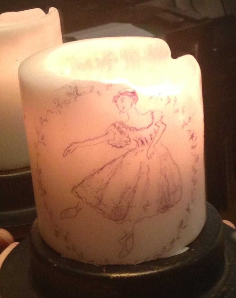 jess ruhlin dandles dancer candles