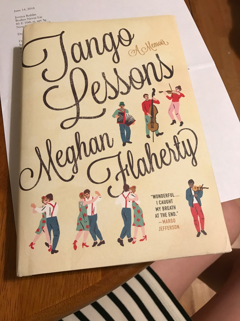 Tango Lessons Book Review